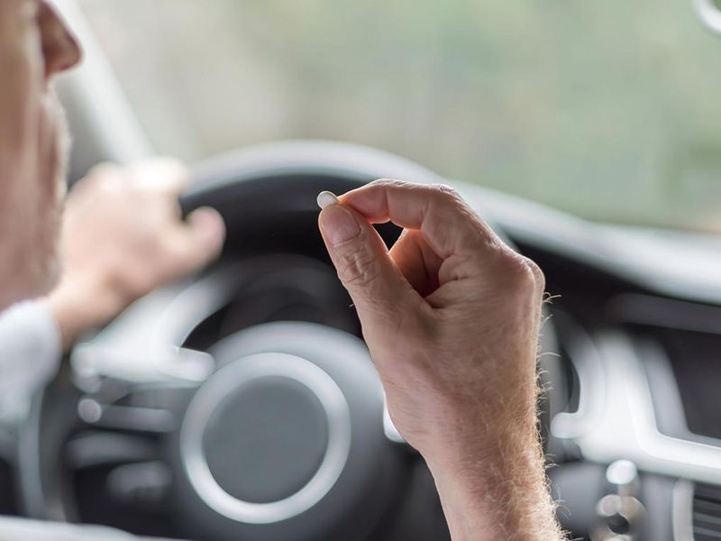 Medicamentos al volante. Evita accidentes
